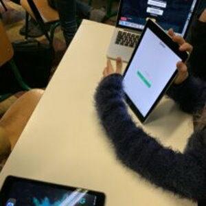 Des tablettes au service des apprentissages à l'école maternelle !?