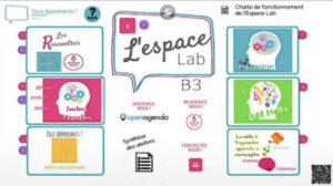 Présentation du laboratoire d'innovation de la circonscription de Béthune3