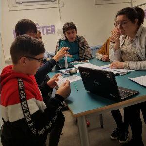 Apprendre autrement :   Un escape game pour favoriser le travail collaboratif  au collège Angellier de Boulogne