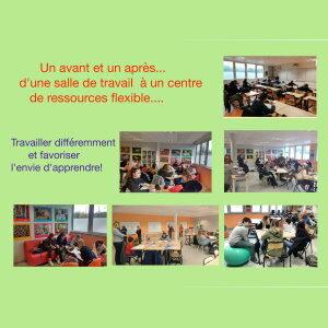 Permanence flexible au collège Joliot Curie de Calonne Ricouart !