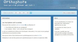 Ortophore