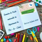 Flyer de la semaine de l'école maternelle 2021