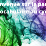 L'enseignement du vocabulaire au cycle 1